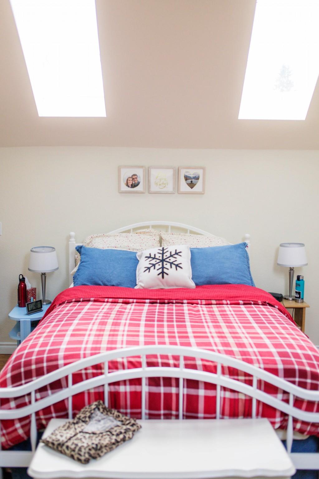 Historic Home Tudor Revival Style Bedroom