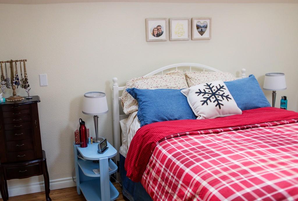 Plaid Bedroom Set