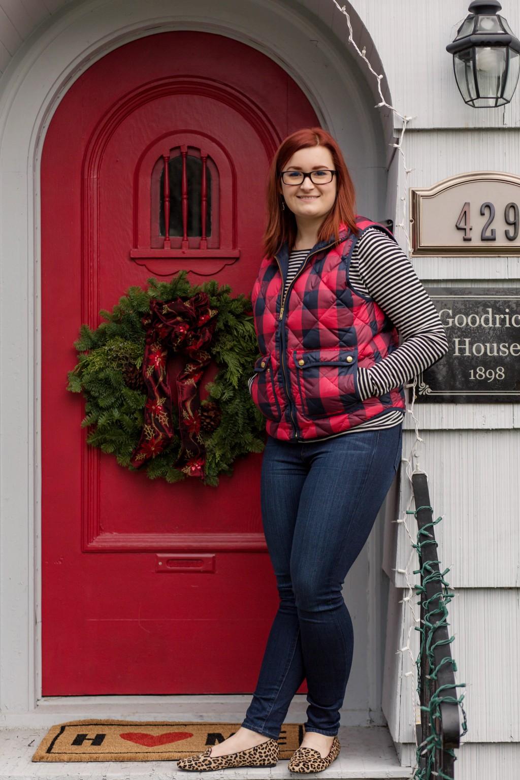 1 - All Things Kate in Paige Denim, Shoes of Prety, J.Crew, Kam Dhillon Glasses, Kendra Scott via Rocksbox