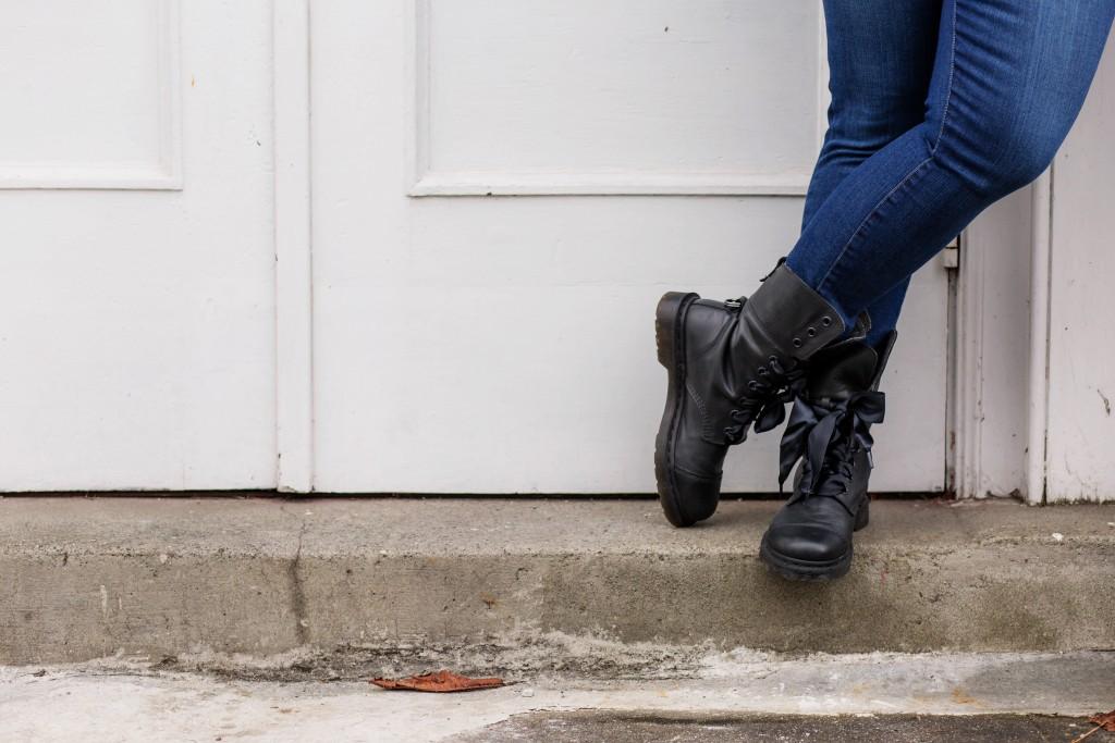 5 - Dr. Martens Aimilita Combat Boots