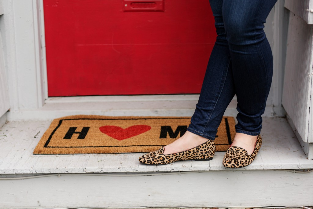8 - Leopard print loafers