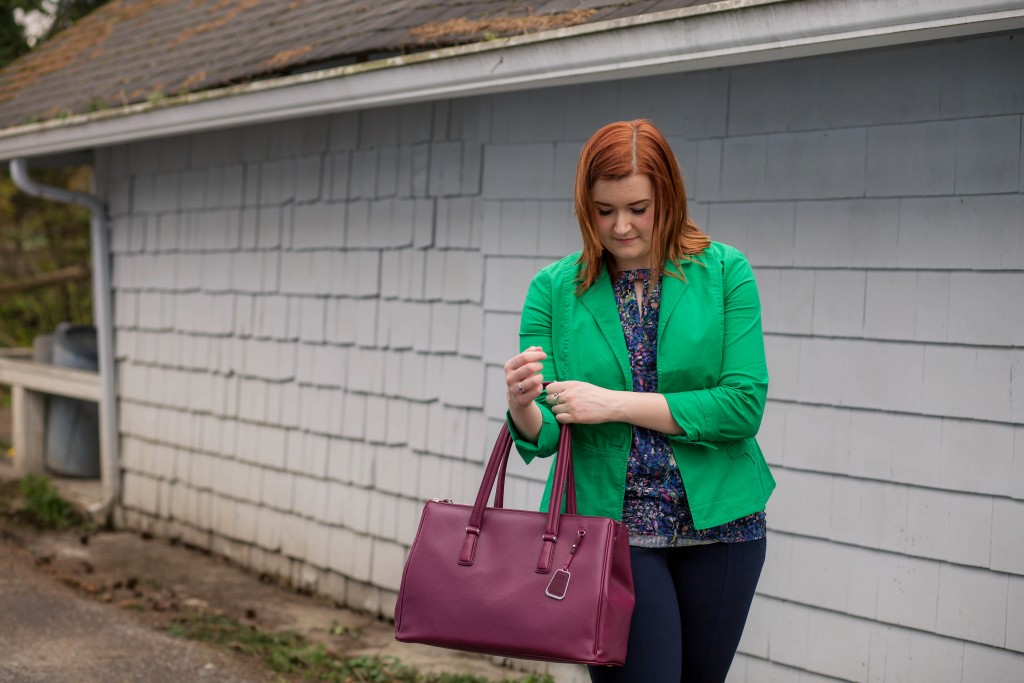 2 - Cabi business casual inspiration with verde jacket and capote trouser