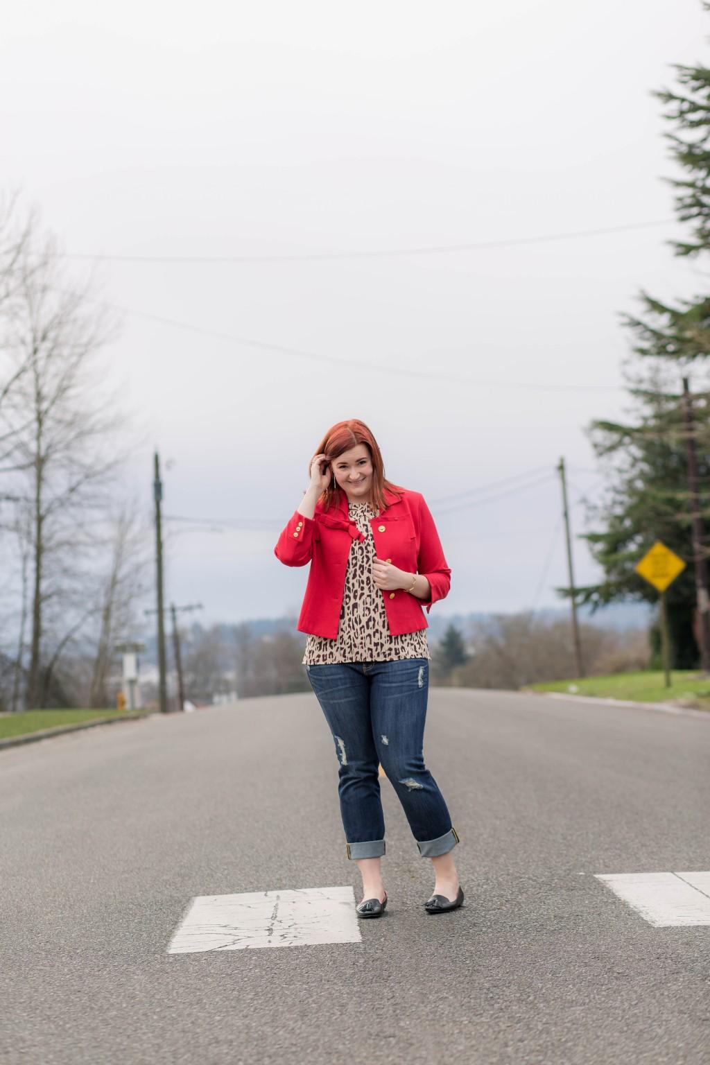 20 - Redhead style blogger