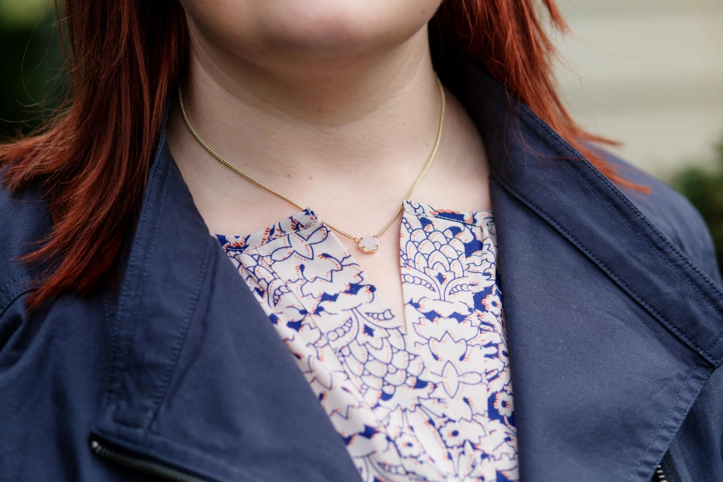 4 - Kendra Scott glitter necklace via Rocksbox