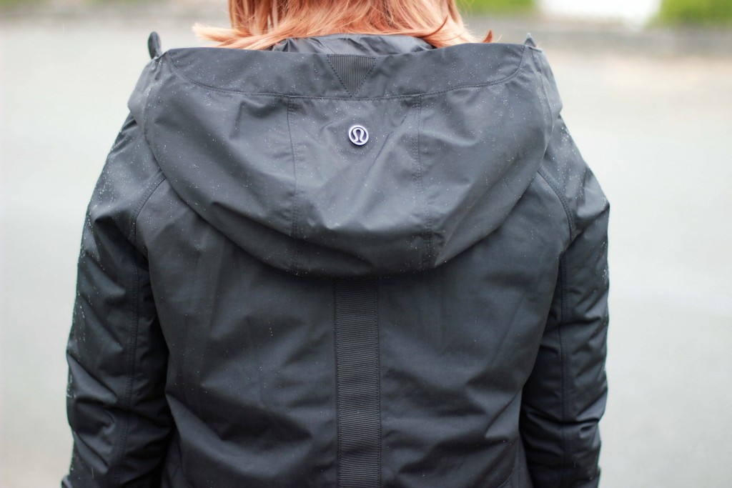 4 - Lululemon rain jacket