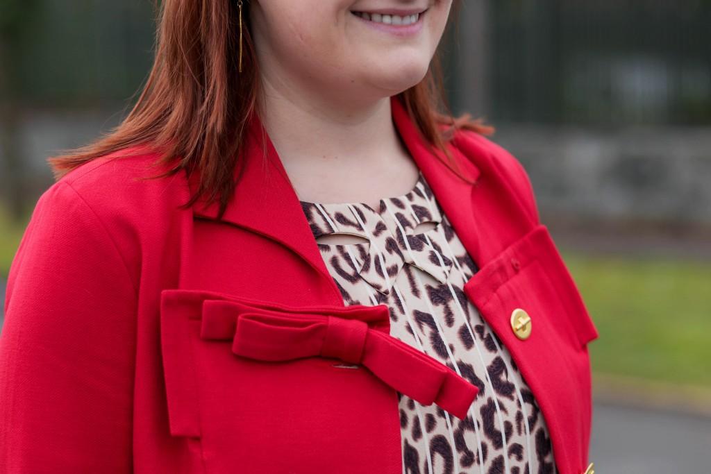 4 - feminine bow jacket