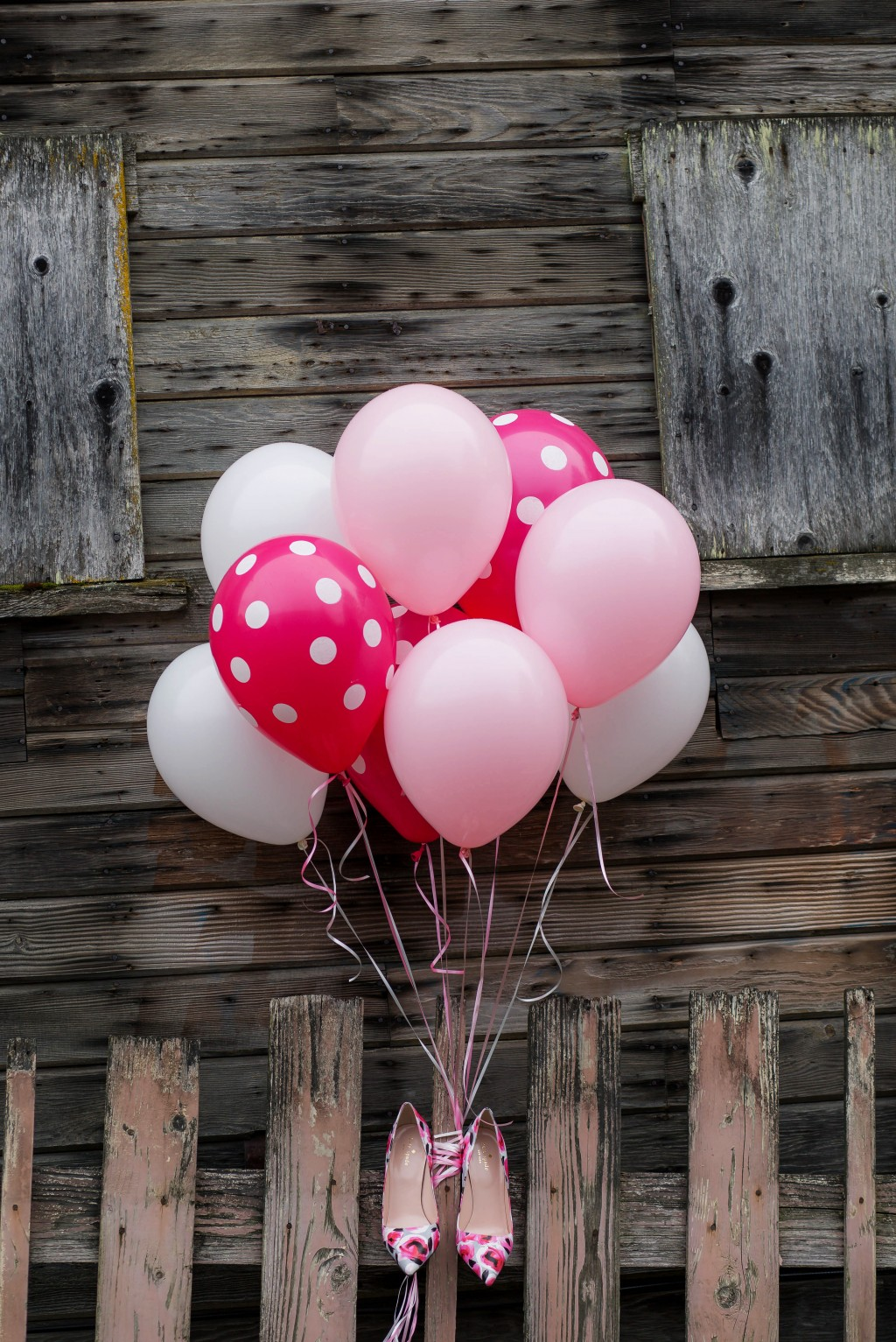 10 - balloons and shoes