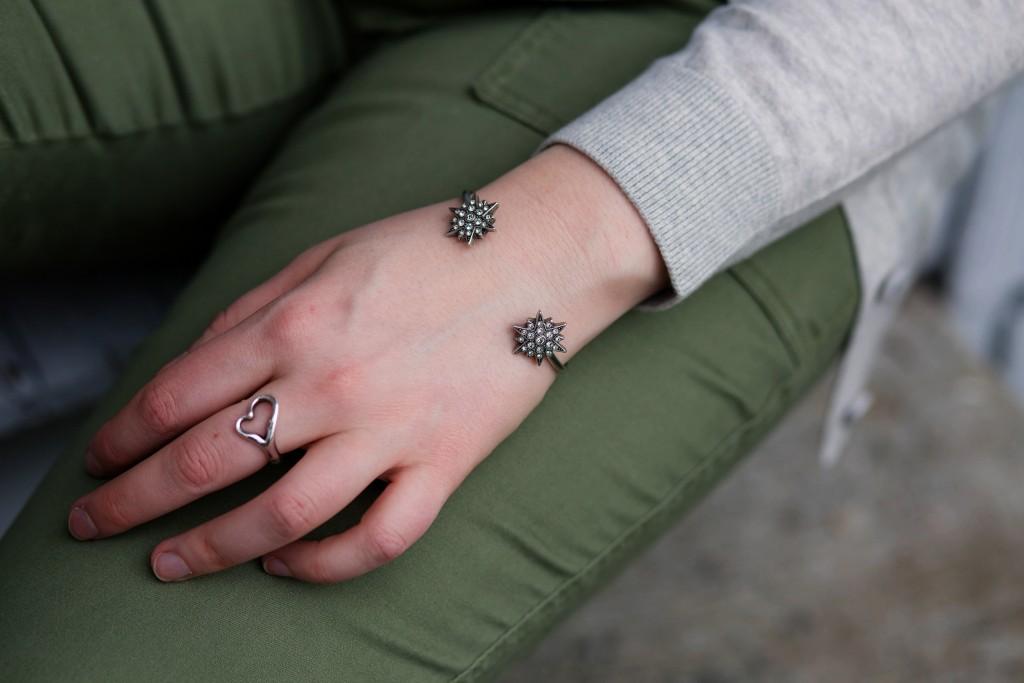 10 - starbust cuff bracelet
