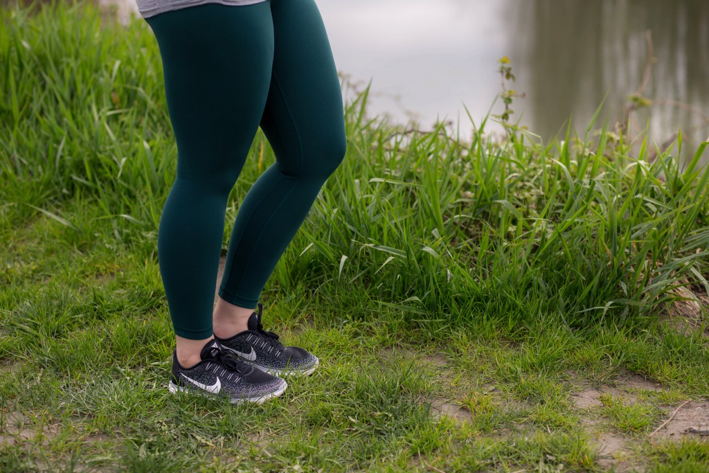 5 - Lululemon Align Pant in green