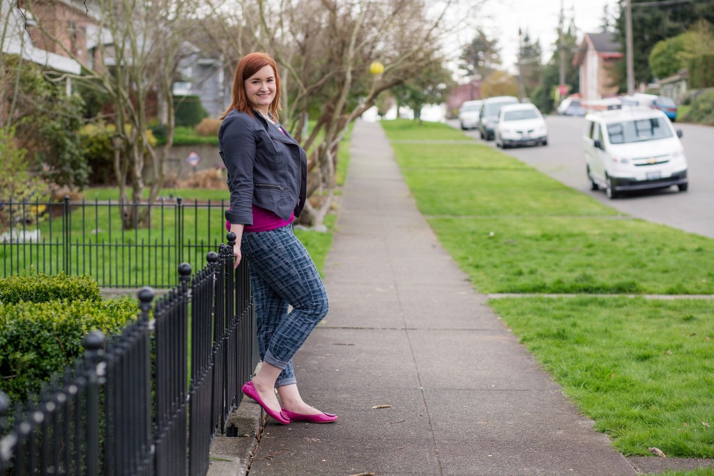 1 - Kate Retherford of All Things Kate Redhead Seattle Fashion Blogger