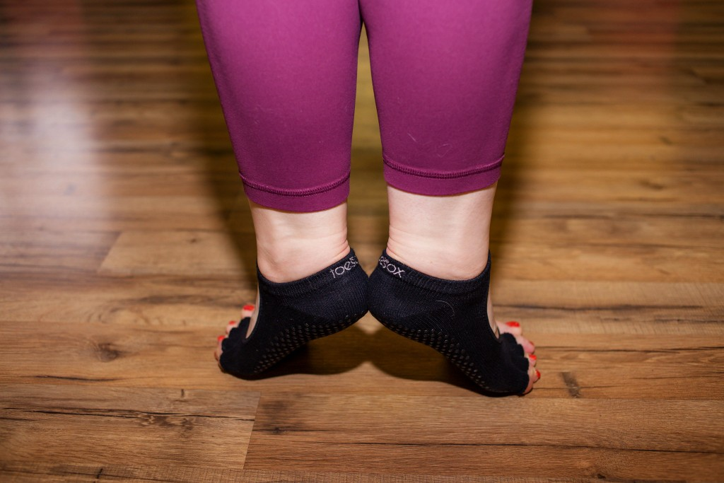 16 - first position releve barre class