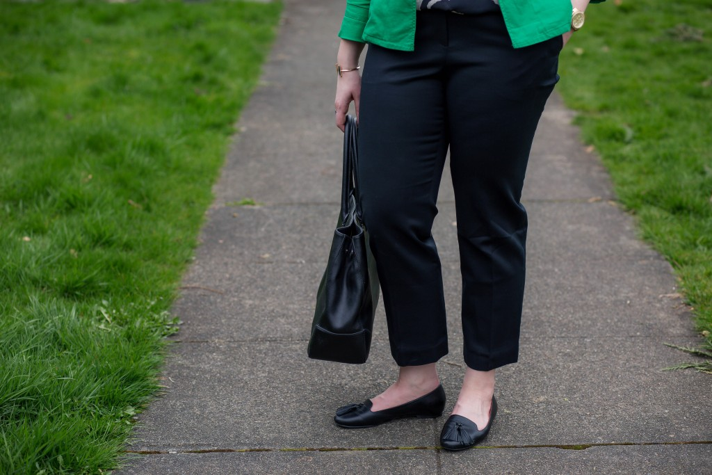 3 - classic black trousers to the office ankle length