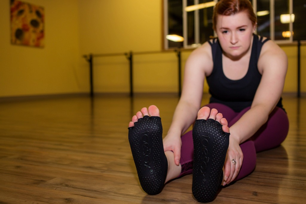 9 - floor stretches after barre class