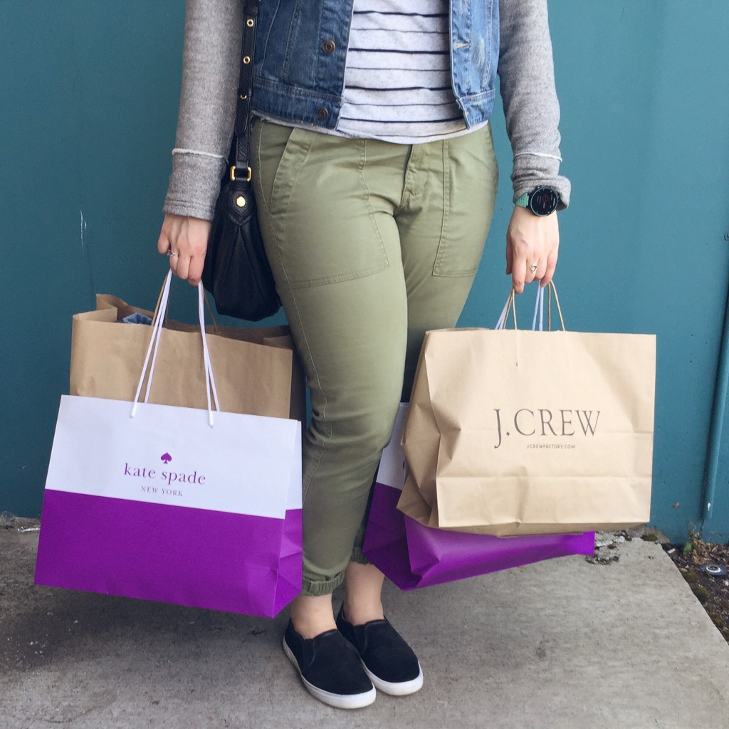 Seattle Premium Outlets Simon Mall Shopping