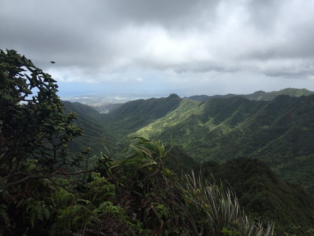 10 - Views from the Moanalua Middle Ridge Trail