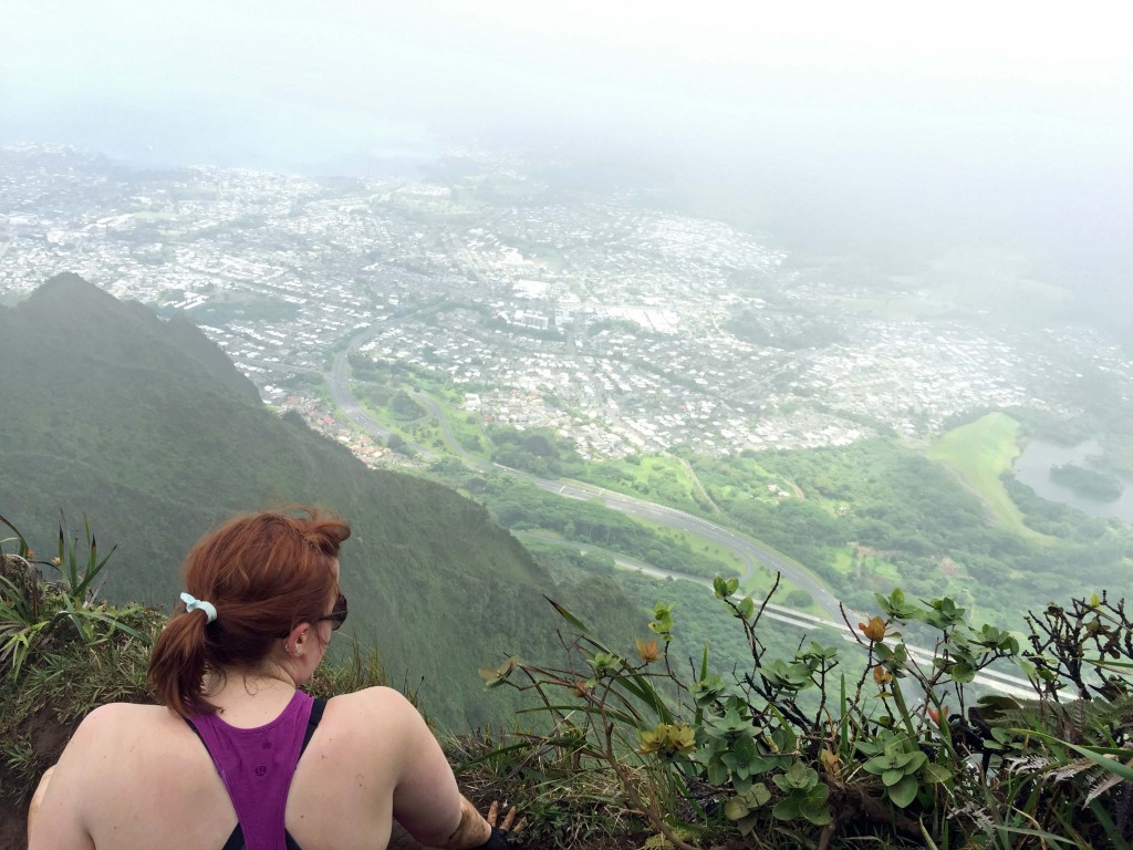 14 - Moanalua Middle Ridge overlooking Kaneohe