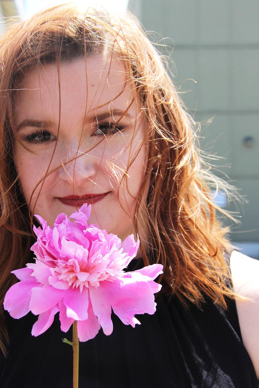 16 - pink peony blogger