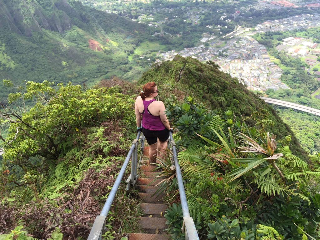22 - hiking the Haiku Stairs