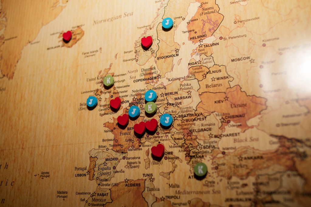 5 - idea for travel map pins