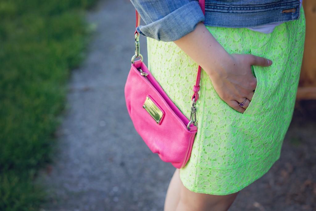 8 - Marc Jacobs hot pink bag