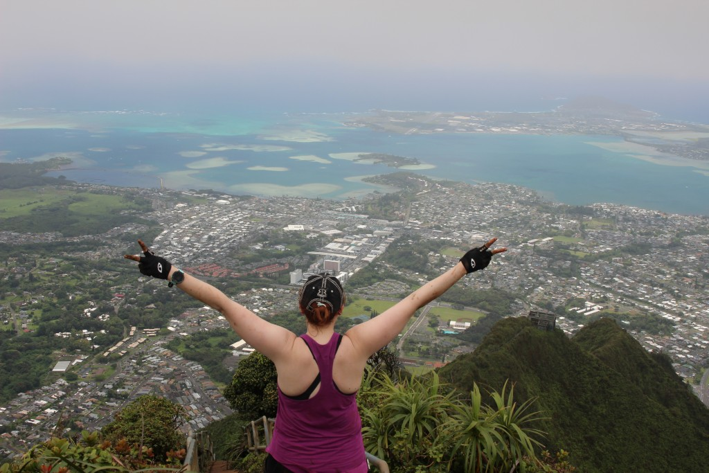 Moanalua Middle Ridge Trial to Haiku Stairs