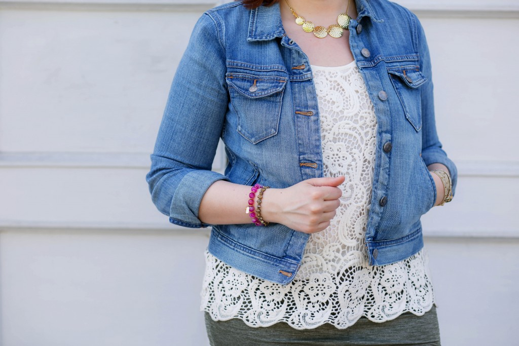 10 - denim and lace style inspiration