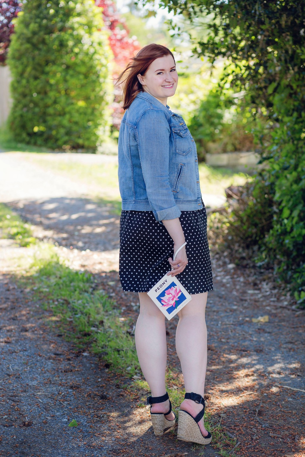 5 - how to style a casual polka dot dress