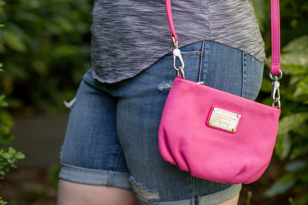 8 - Hot pink Marc by Marc Jacobs purse