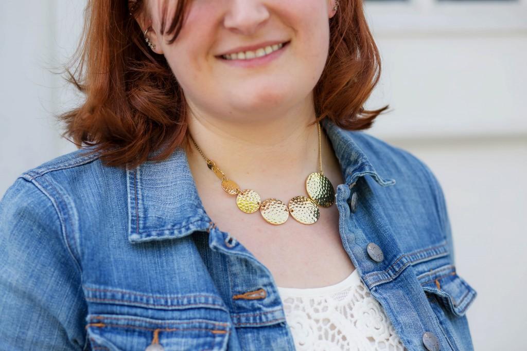 8 - Jules Smith Goddess Necklace from Rocksbox