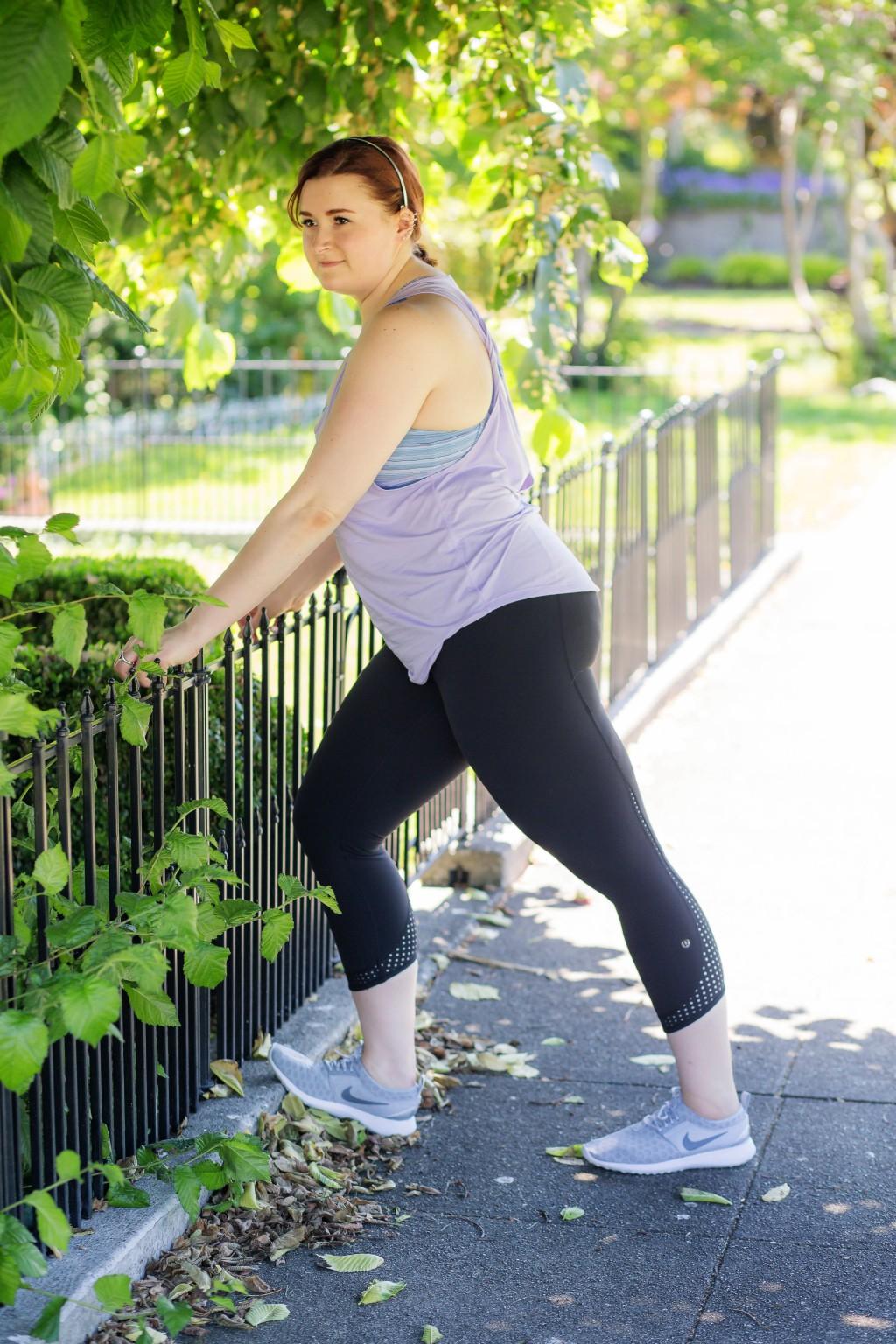 8 - Lululemon workout style