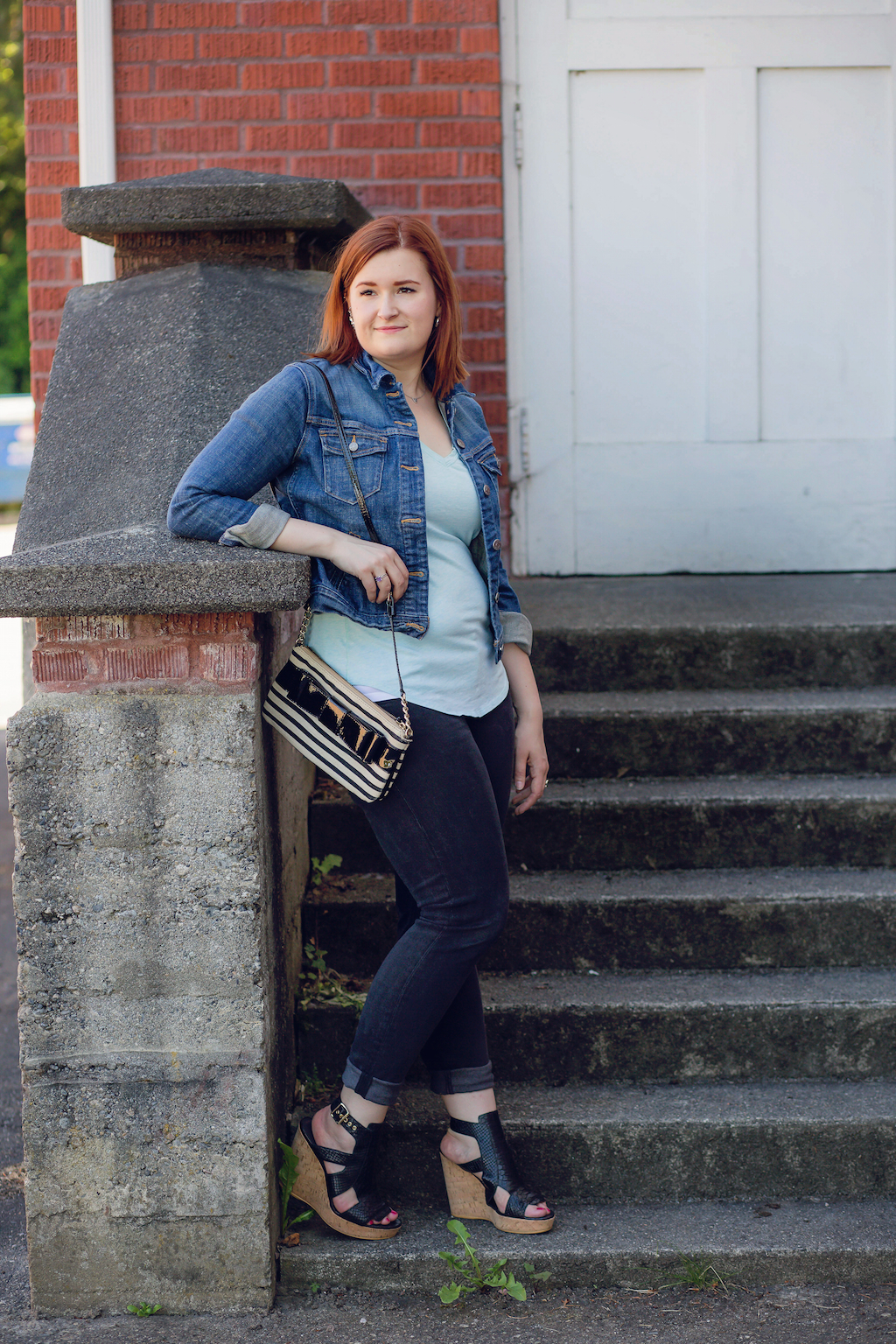15 - casual summer outfit black denim (Resized)