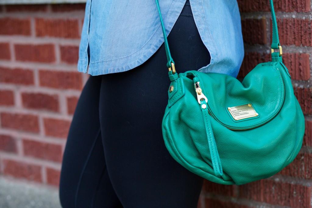 5 - Parrot green Marc by Marc Jacobs Natasha bag