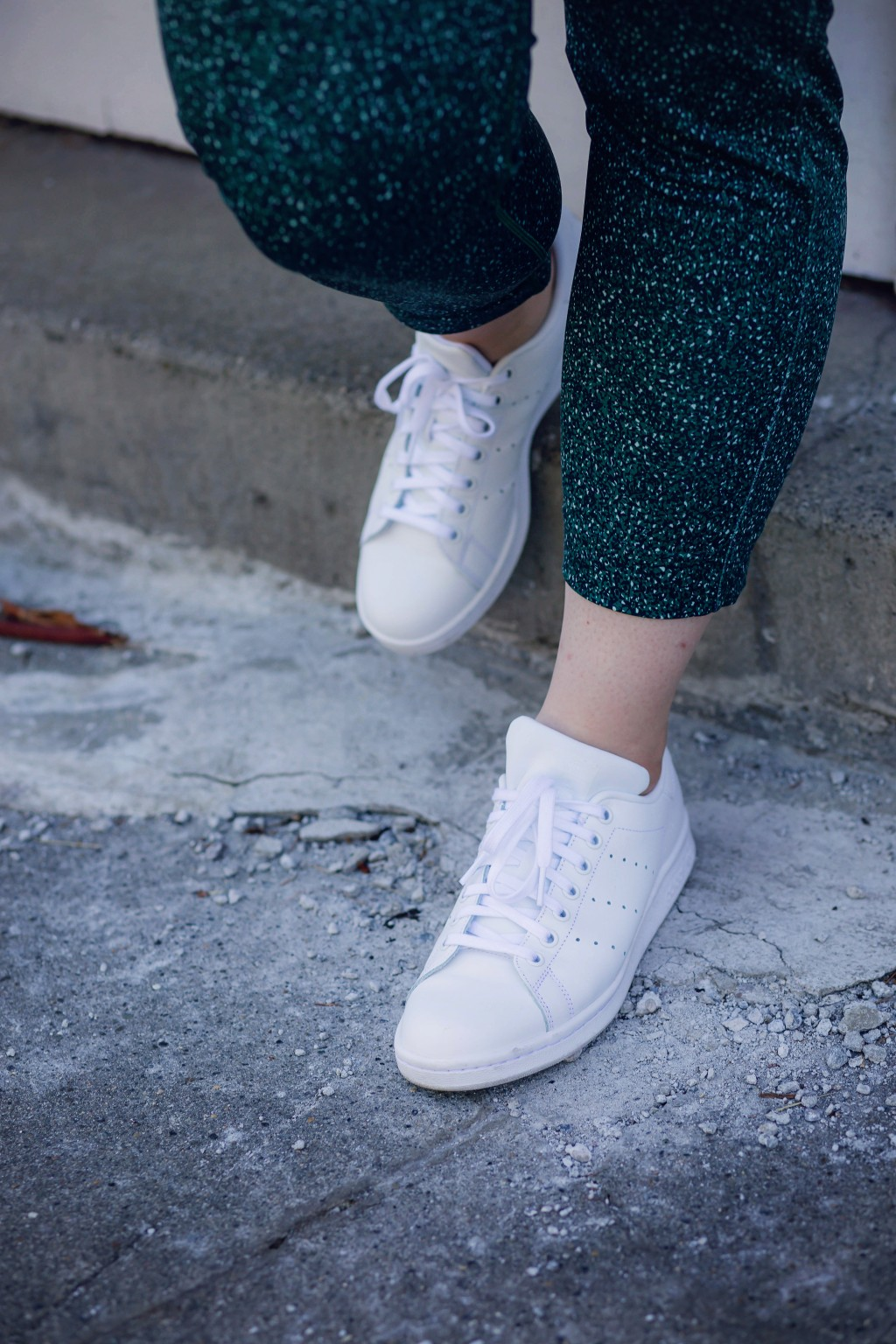5 - all white adidas stan smiths