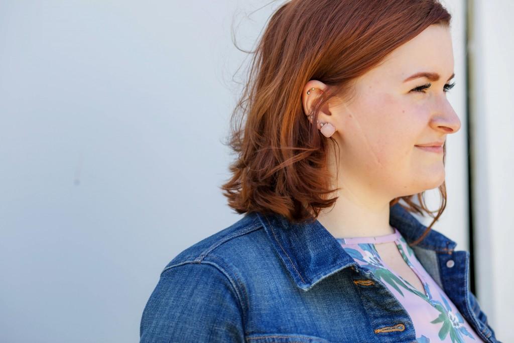 8 -Kate Spade gumdrop earrings