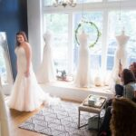 Wedding Dress Shopping for the In-Between Bride