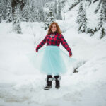 Frolicking in the Snow at Snoqualmie